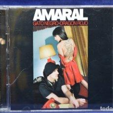 CDs de Música: AMARAL - GATO NEGRO / DRAGÓN ROJO - 2 CD. Lote 179950518