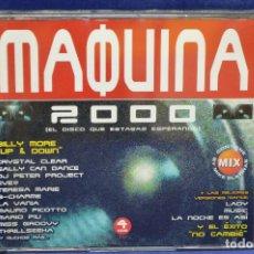 CDs de Música: VARIOUS - MÁQUINA 2000 - 4 CD. Lote 179950790