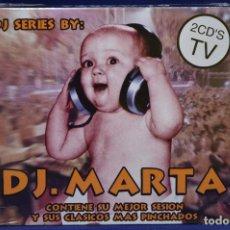CDs de Música: DJ MARTA - DJ MARTA (ACTUAL AND CLASSIC TRACKS) - 2 CD. Lote 179951233