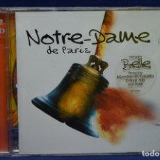 CDs de Música: VARIOUS - NOTRE DAME DE PARIS - 2 CD. Lote 179951457