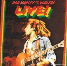 CDs de Música: BOB MARLEY AND THE WAILERS - LIVE ! - CD. Lote 179952450