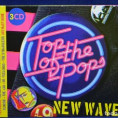 CDs de Música: VARIOUS - TOP OF THE POP / NEW WAVE - 3 CD. Lote 179952803