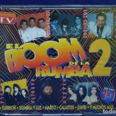 CDs de Música: VARIOUS - EL BOOM DE LA RUMBA 2 - 2 CD. Lote 179952942