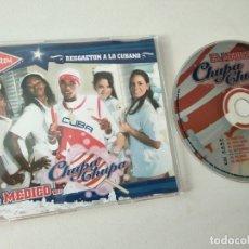 CDs de Música: CD SINGLE REGGAETON A LO CUBANO CUBATON , EL MEDICO .. CHUPA CHUPA 6 TEMAS MAXI. Lote 179955041