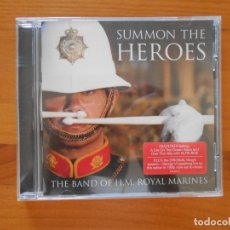 CDs de Música: CD SUMMON THE HEROES - THE BAND OF H.M. ROYAL MARINES (9I). Lote 179957766