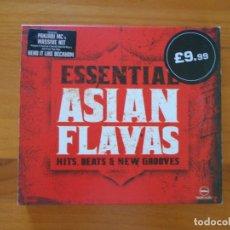 CDs de Música: CD ESSENTIAL ASIAN FLAVAS (9I). Lote 179958172