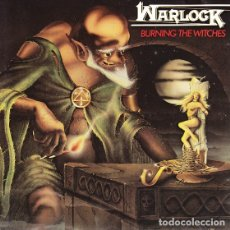 CDs de Música: WARLOCK - BURNING THE WITCHES - REISSUE. Lote 180010827