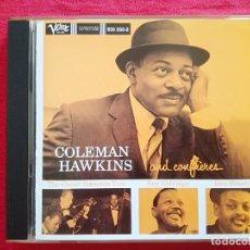 CDs de Música: COLEMAN HAWKINS - AND CONFRERES - OSCAR PETERSON ROY ELDRIDGE BEN WEBSTER. Lote 180014556