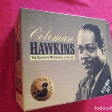 CDs de Música: COLEMAN HAWKINS - BOX 6 X CD - THE COMPLETE RECORDINGS 1929 - 1941 - LIBRETO. Lote 180015211