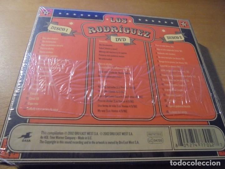 CDs de Música: RAR 2 CD'S & DVD. LOS RODRÍGUEZ. PARA NO OLVIDAR. DIGIPACK. SEALED. MINT - Foto 2 - 180020323