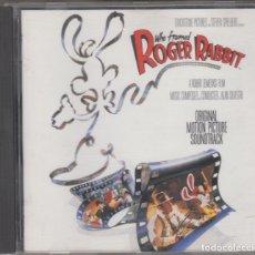 CDs de Música: WHO FRAMED ROGER RABBIT CD BANDA SONORA DE LA PELÍCULA QUIEN MATÓ A...ALAN SILVESTRI 1988. Lote 180025940