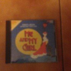 CDs de Música: ME AND MY GIRL MUSICAL ORIGINAL BROADWAY CAST ROBERT LINDSAY CD ALBUM HECHO EN USA AÑO 1986 17 TEMAS. Lote 180041561