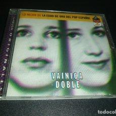 CDs de Música: VAINICA DOBLE, LO MEJOR DE LA EDAD DE ORO DEL POP ESPAÑOL . Lote 180042572