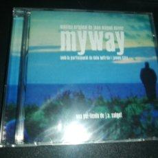 CDs de Música: JOAN MIQUEL OLIVER, BSO MYWAY. Lote 180042665