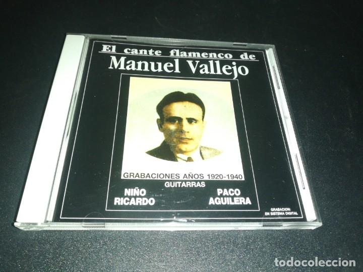 EL CANTE FLAMENCO DE MANUEL VALLEJO (Música - CD's Flamenco, Canción española y Cuplé)