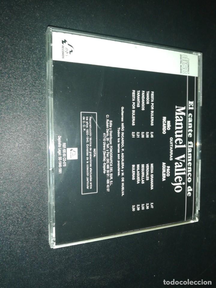 CDs de Música: El cante flamenco de Manuel vallejo - Foto 3 - 180042755