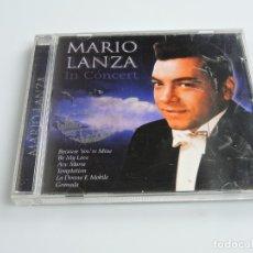 CDs de Música: MARIO LANZA IN CONCERT CD. Lote 180071953