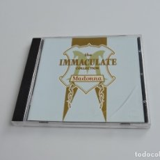 CDs de Música: THE IMMACULATE COLLECTION MADONNA CD. Lote 180072103