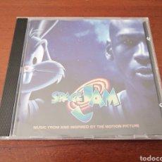 CDs de Música: SPACE JAM MICHAEL JORDAN BUGS BUNNY BSO WARNER 2006. Lote 180075817