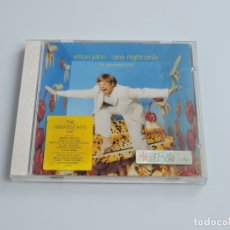 CDs de Música: ELTON JOHN - ONE NIGHT ONLY THE GREATEST HITS CD. Lote 180075975