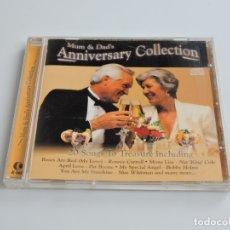 CDs de Música: MUM & DAD'S ANNIVERSARY COLLECTION CD. Lote 180078548