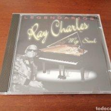 CDs de Música: LEGENDARIOS RAY CHARLES MY SOUL 2001 CRIN. Lote 180079056