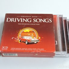 CDs de Música: GREATEST EVER! DRIVING SONGS THE DEFINITIVE COLLECTION BOX SET 3XCD. Lote 180079465
