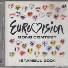 CDs de Música: EUROVISION SONG CONTEST 2004 ISTANBUL DOBLE CD . Lote 180091856