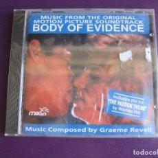CDs de Música: GRAEME REVELL – BODY OF EVIDENCE CD MILAN 1993 PRECINTADO - BSO CINE - CLASICA POP . Lote 180092451