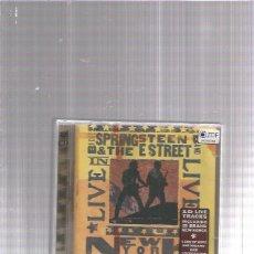 CDs de Música: BRUCE SPRINGSTEEN LIVE NEW YORK. Lote 180093420