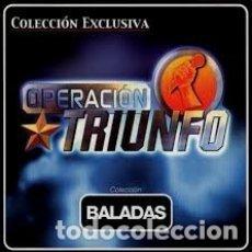 CDs de Música: OPERACION TRIUNFO BALADAS. Lote 180093512