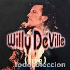 CDs de Música: WILLY DEVILLE LIVE. Lote 180093601