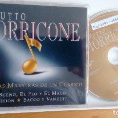 CDs de Música: CD-SINGLE ( 3 TEMAS)-PROMOCION- DE ENNIO MORRICONE. Lote 180103515