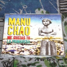 CDs de Música: MANU CHAO - ME GUSTAS TÚ / LA PRIMAVERA - 3 TRACKS - VIRGIN ?- 7243 8976142 9 - MAXI-CD. Lote 180110671