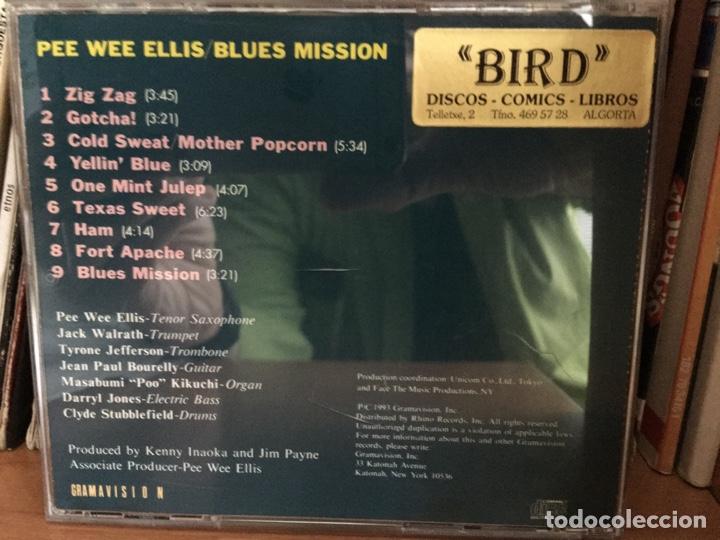 CDs de Música: Pee Wee Ellis - Blues Mission (CD, Album) (Gramavision)R2 79486 - Foto 2 - 180119688