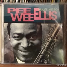 CDs de Música: PEE WEE ELLIS - BLUES MISSION (CD, ALBUM) (GRAMAVISION)	R2 79486. Lote 180119688