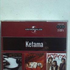 CDs de Música: KETAMA 3 CDS. Lote 180125572