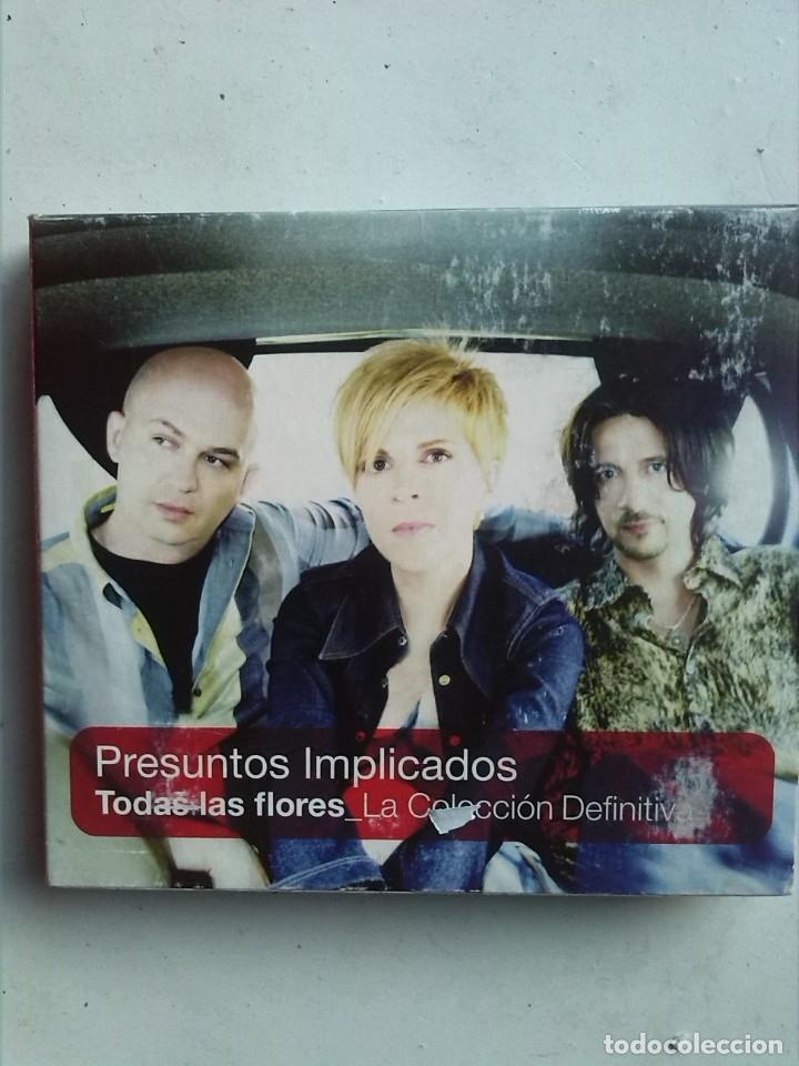 PRESUNTOS IMPLICADOS TODAS LAS FLORES 2CDS+DVD (Música - CD's Pop)