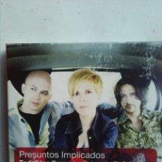 CDs de Música: PRESUNTOS IMPLICADOS TODAS LAS FLORES 2CDS+DVD. Lote 180136980