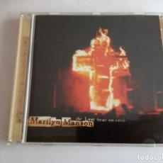 CDs de Música: CD ORIGINAL - MARILYN MANSON - THE LAST TOUR ON EARTH - HEAVY METAL, ALTERNATIVO. Lote 180137985