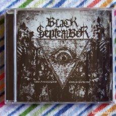 CDs de Música: BLACK SEPTEMBER - THE FORBIDDEN GATES BEYOND CD NUEVO Y PRECINTADO - DEATH METAL. Lote 180148548