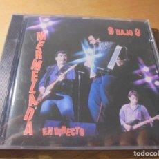 CDs de Música: RAR CD. 9 BAJO 0. MERMELADA. EN DIRECTO. SEALED. MINT. PRECINTADO. MADE IN SPAIN. 13 TRACKS. VEMSA. . Lote 180149858