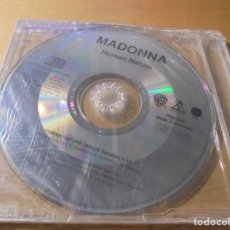 CDs de Música: RAR PROMO SINGLE CD. MADONNA. HUMAN NATURE. 1 TRACK. MADE IN GERMANY. Lote 180149876