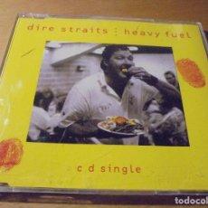 CDs de Música: RAR SINGLE CD. DIRE STRAITS. HEAVY FUEL. 3 TRACKS. 1991.. Lote 180149990