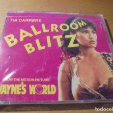 CDs de Música: RAR SINGLE CD. TIA CARRERE. BALLROOM BLITZ. 3 TRACKS. MOTION PICTURE. SEALED. Lote 180150033