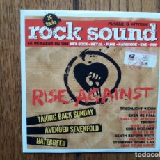 CDs de Música: ROCK SOUND VOL 111 - RISE AGAINST + GOOD RIDDANCE + ..... Lote 180163038