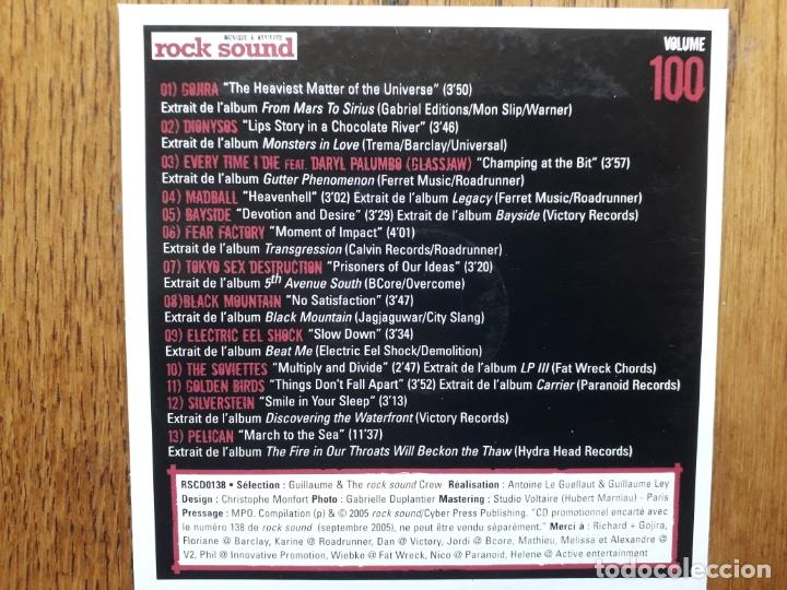 CDs de Música: Rock sound vol 100 - gojira + madball + tokyo sex destruction + fear factory + ... - Foto 2 - 180163246