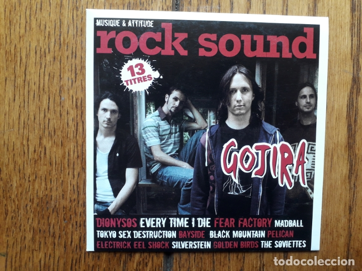 ROCK SOUND VOL 100 - GOJIRA + MADBALL + TOKYO SEX DESTRUCTION + FEAR FACTORY + ... (Música - CD's Heavy Metal)