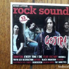 CDs de Música: ROCK SOUND VOL 100 - GOJIRA + MADBALL + TOKYO SEX DESTRUCTION + FEAR FACTORY + .... Lote 180163246