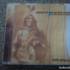 CDs de Música: CD -- CHANT OF THE GRAND SPIRIT - MUSICA DEL GRAN ESPIRITU -- . Lote 180165876